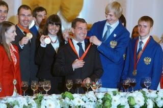 Правительство установило размер денежных премий за олимпийские медали 2016 года