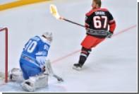 Игрок сборной звезд КХЛ исполнил буллит горящей клюшкой