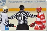 «Спартак» запретит бросившему бананы на лед фанату ходить на матчи КХЛ