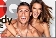 Криштиану Роналду снялся полуобнаженным с бразильской супермоделью