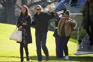 Обама рассказал о жалобах своих дочерей на жизнь в Белом доме