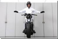 Honda научит мотоциклы удерживать равновесие