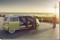 Volkswagen показал электрический микроавтобус для будущих хиппи