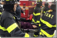 Более 100 человек пострадали при сходе поезда с рельсов в США