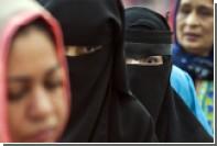 В Марокко запретили производство паранджи