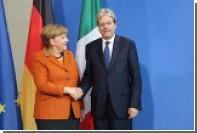 Джентильони обсудил с Меркель возможность восстановления G8 с участием России