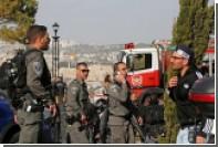 Опубликовано видео с места теракта в Иерусалиме