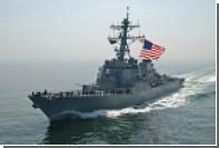 Эсминец ВМС США произвел залп в сторону иранских катеров