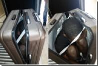 Марокканку задержали за попытку провезти в Испанию габонца в чемодане