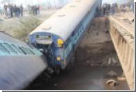 В Индии при крушении поезда погибли 13 человек