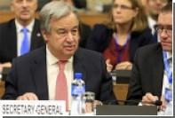 Генсек ООН назвал Кипр будущим символом надежды