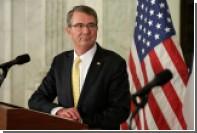 Глава Пентагона назвал нулевым вклад России в борьбу с ИГ
