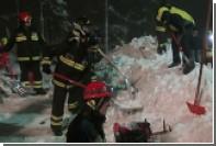 Число жертв схода лавины на отель в Италии возросло до 16