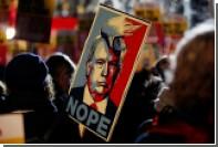 Петиция против госвизита Трампа в Британию набрала почти миллион подписей