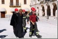 В Италии произошло повторное землятресение