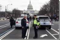 В Вашингтоне противники Трампа побили стекла и подрались с полицией