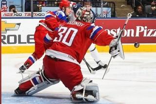Опубликовано видео лучших моментов матча Россия — Словакия на МЧМ по хоккею