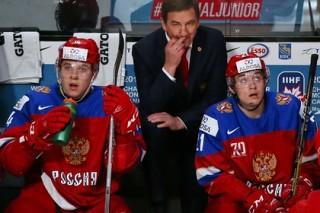 Россия обыграла Швецию в матче за бронзовые медали молодежного ЧМ по хоккею