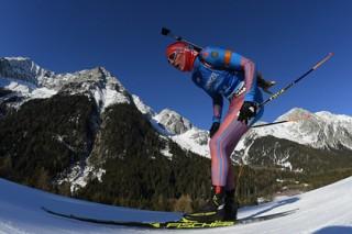 Россияне заняли третье место в эстафете на этапе Кубка мира по биатлону