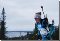 Российские биатлонистки финишировали вне первой двадцатки в пасьюте на этапе КМ