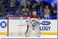 Менеджер по экипировке клуба НХЛ сыграл в официальном матче команды