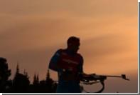 Россияне остались без медалей в спринте на этапе КМ по биатлону