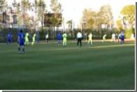 Нападающий «Ростова» забил «ударом скорпиона» в матче со словацкой «Жилиной»