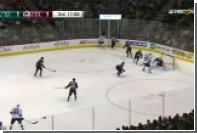 В матче НХЛ впервые за 20 лет игрок забросил четыре шайбы за период