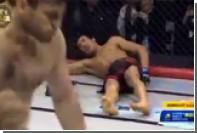 Российский боец MMA нокаутировал соперника из Узбекистана во время приветствия
