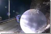 Появилось видео смертельной аварии на Ралли в Монте-Карло