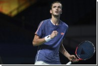 Определился состав сборной России по теннису на матч с Сербией в Кубке Дэвиса