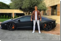 Роналду бросил Lamborghini на трассе из-за боли в запястье