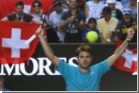 Вавринка исправил болельщика во время матча Australian Open