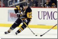 Малкин забросил шайбу по-бобровски в матче НХЛ