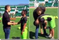 Футболист забил в девятку со штрафного после сеанса гипноза