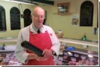 Мясник избежал смертельного обледенения благодаря колбасе