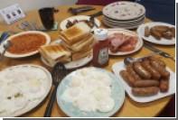 Веганов разъярил завтрак британских полицейских