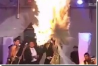 Королева красоты из Сальвадора загорелась на сцене