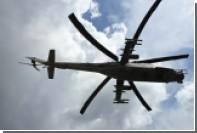 Российский вертолет Ми-24 разбился в Сирии