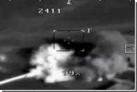 Удар «Краснополем» по диверсантам в Сирии показали на видео