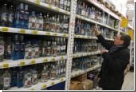 Продажи водки в России рухнули