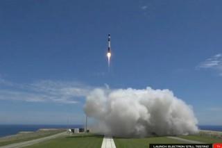 США первыми в мире запустили ракету нового класса