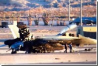 Поджаренный зад американского истребителя сняли на фото