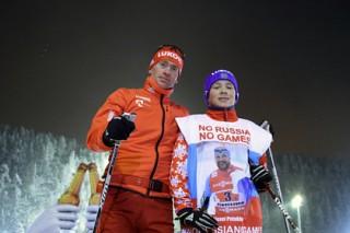 Отстраненных от Олимпиад российских лыжников лишили международных соревнований