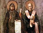 В Одессе воздвигнут памятник Кириллу и Мефодию