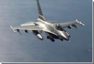 Истребитель F-16 рухнул в Желтое море