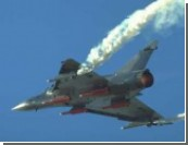 Французский Mirage 2000 утонул в Средиземном море