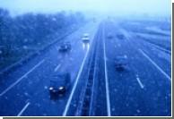 Из-за снегопада в Херсоне прекращено движение транспорта
