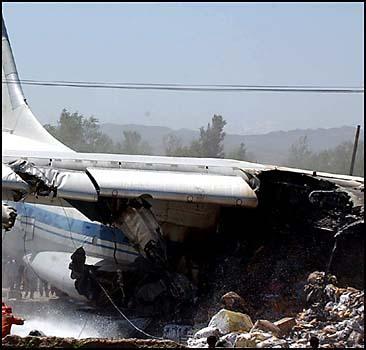 В катастрофе Ан-12 погиб один украинец