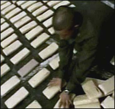 В порту обнаружена тонна кокаина